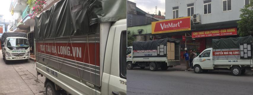 Cho thuê xe tải 1 tấn tại Quảng Ninh