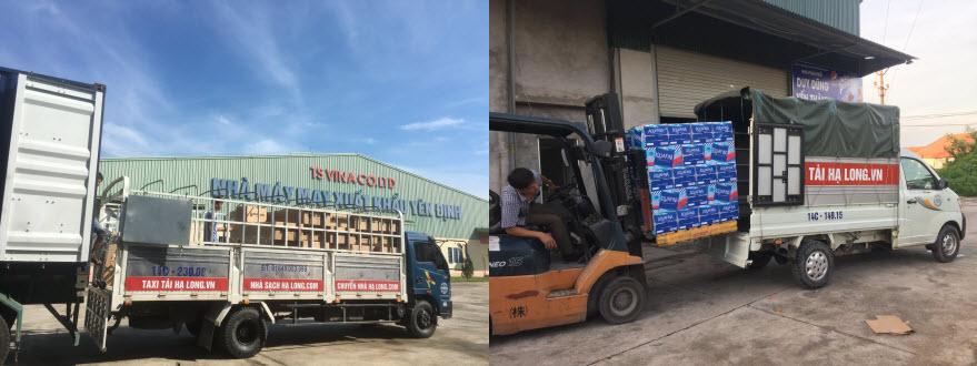Dịch vụ cho thuê xe tải chở hàng Quảng Ninh