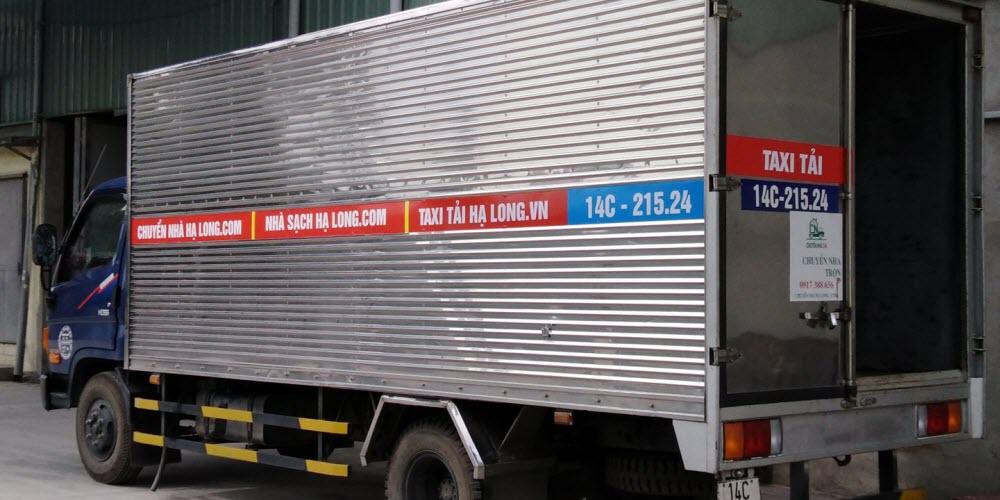 Dịch vụ thuê xe tải chở hàng quảng ninh