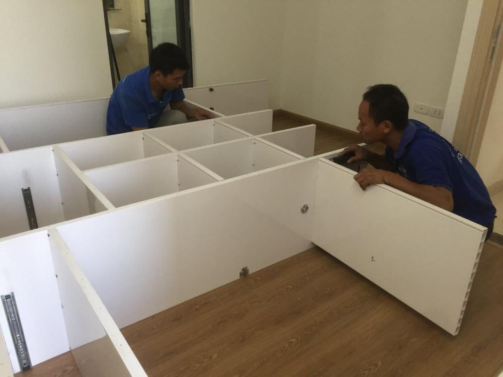 Dịch vụ tháo lắp giường tủ tại nhà Hạ Long